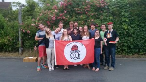 Die Juso Hochschulgruppe nach ihrer JHV
